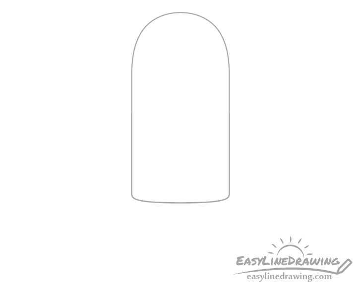 Ice pop top drawing