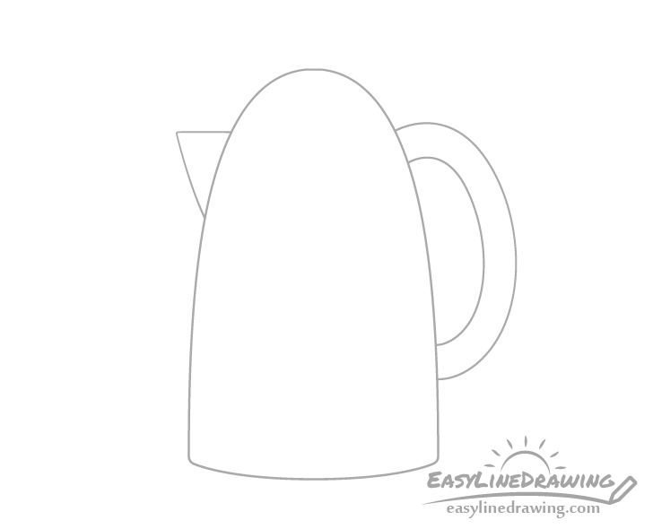 Kettle handle drawing