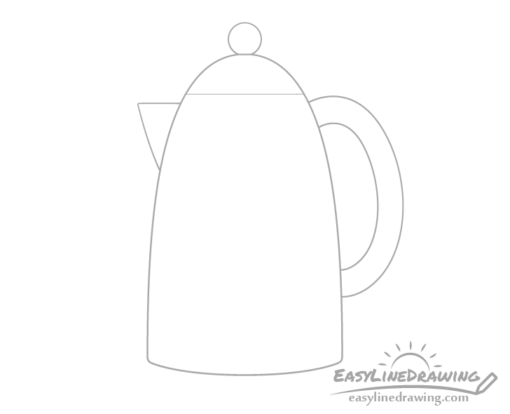 Kettle lid drawing