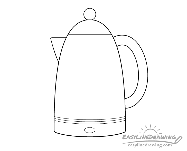 Kettle line drawing