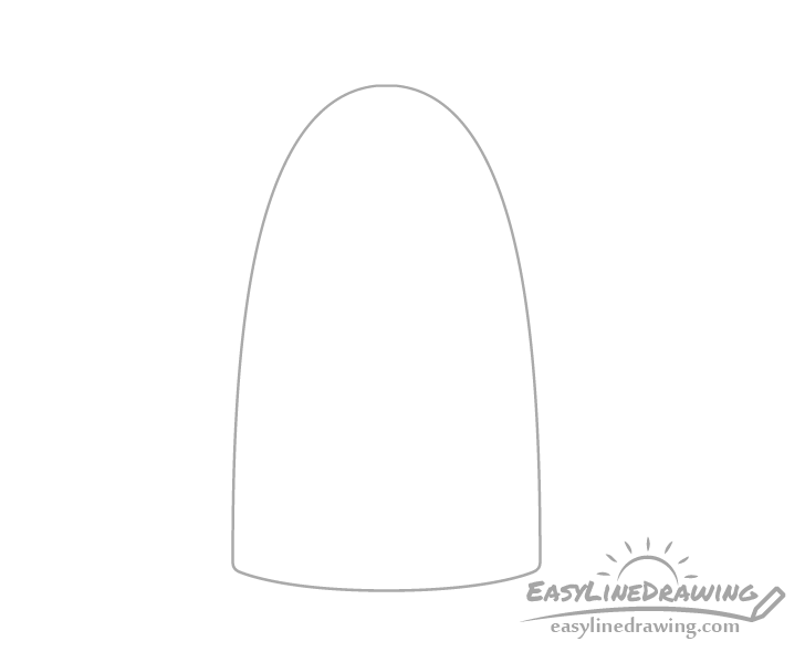 Kettle outline drawing