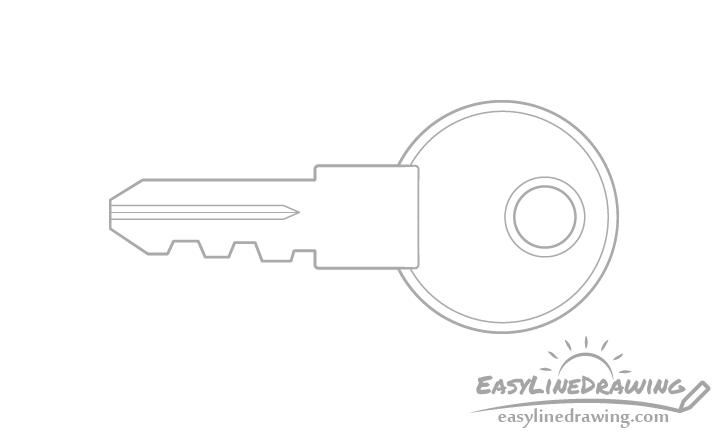 Key rims drawing