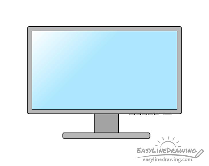 Monitor drawing