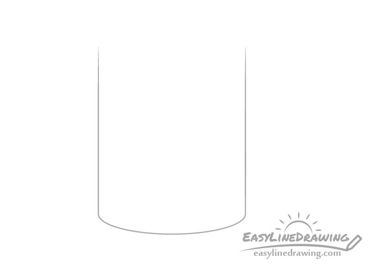 Mug bottom drawing