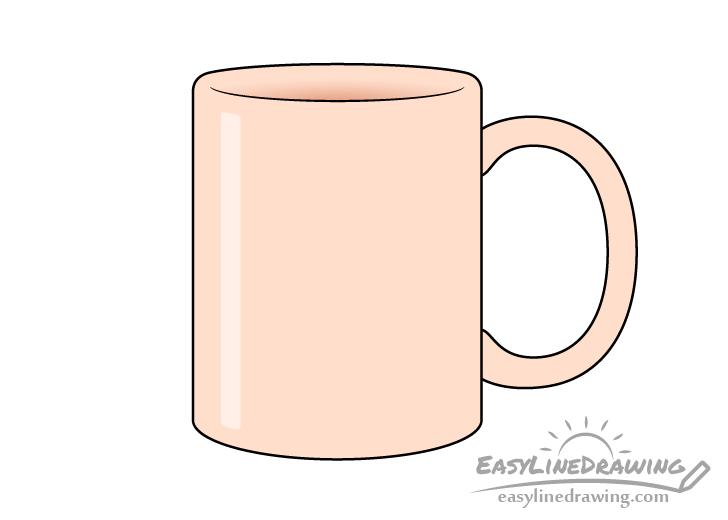 Mug drawing