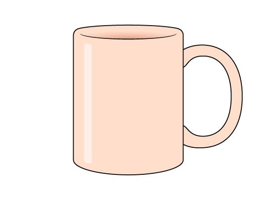 Mug drawing tutorial