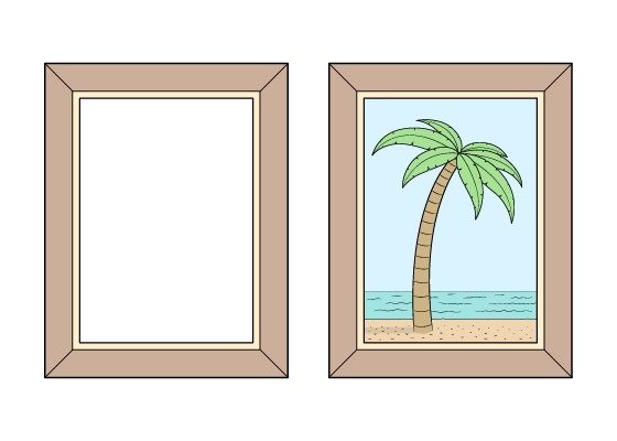 Picture frame drawing tutorial