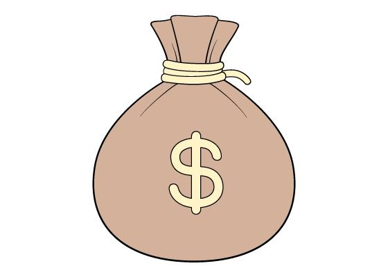 Sack of money drawing tutorial