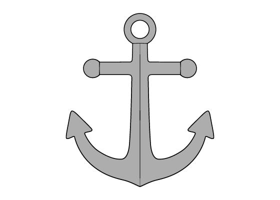 Anchor drawing tutorial