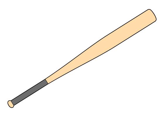 Baseball bat drawing tutorial