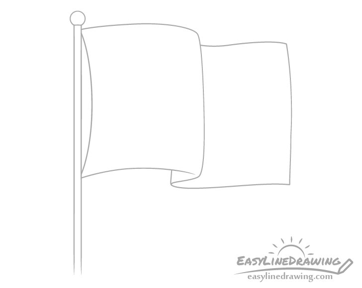 Flag tip drawing
