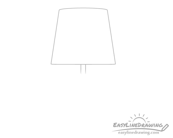 Lamp pipe drawing