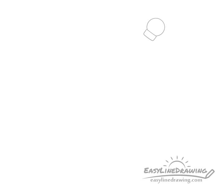 Magic staff head drawing
