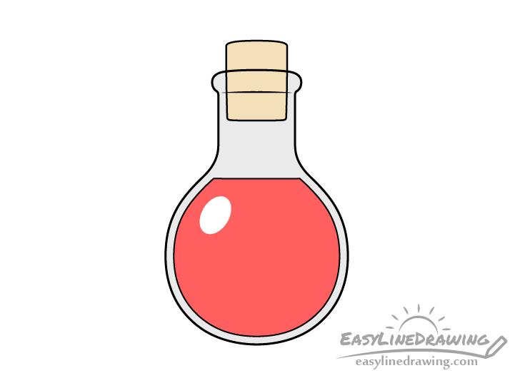 Potion drawing