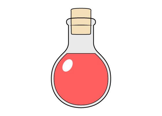 Potion drawing tutorial