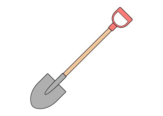 Shovel drawing tutorial