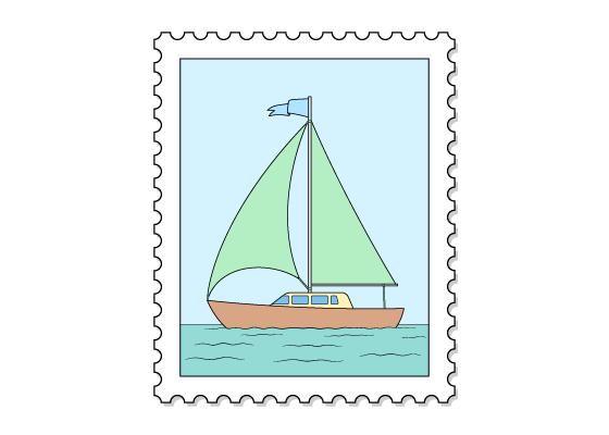 Stamp drawing tutorial