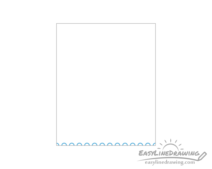 Stamp perforations drawing examples