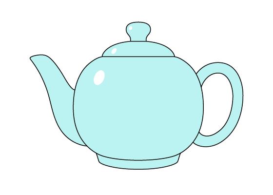 Teapot drawing tutorial